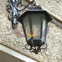 Кованые фонари и подсвечники