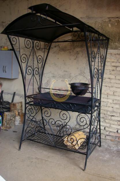 Заказать и купить кованый мангал в СПб