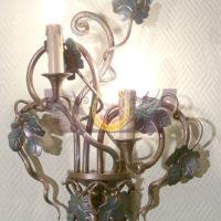 Кованый фонарь, кованый подсвечник